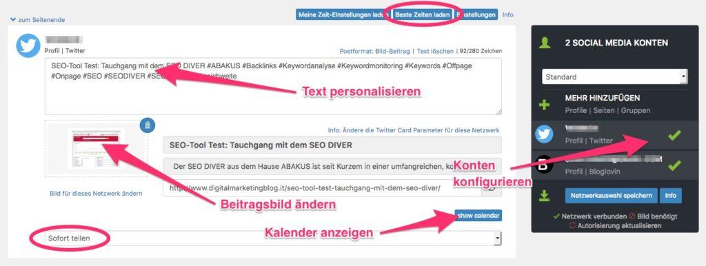 Social Media Automatisierung für WordPress 8
