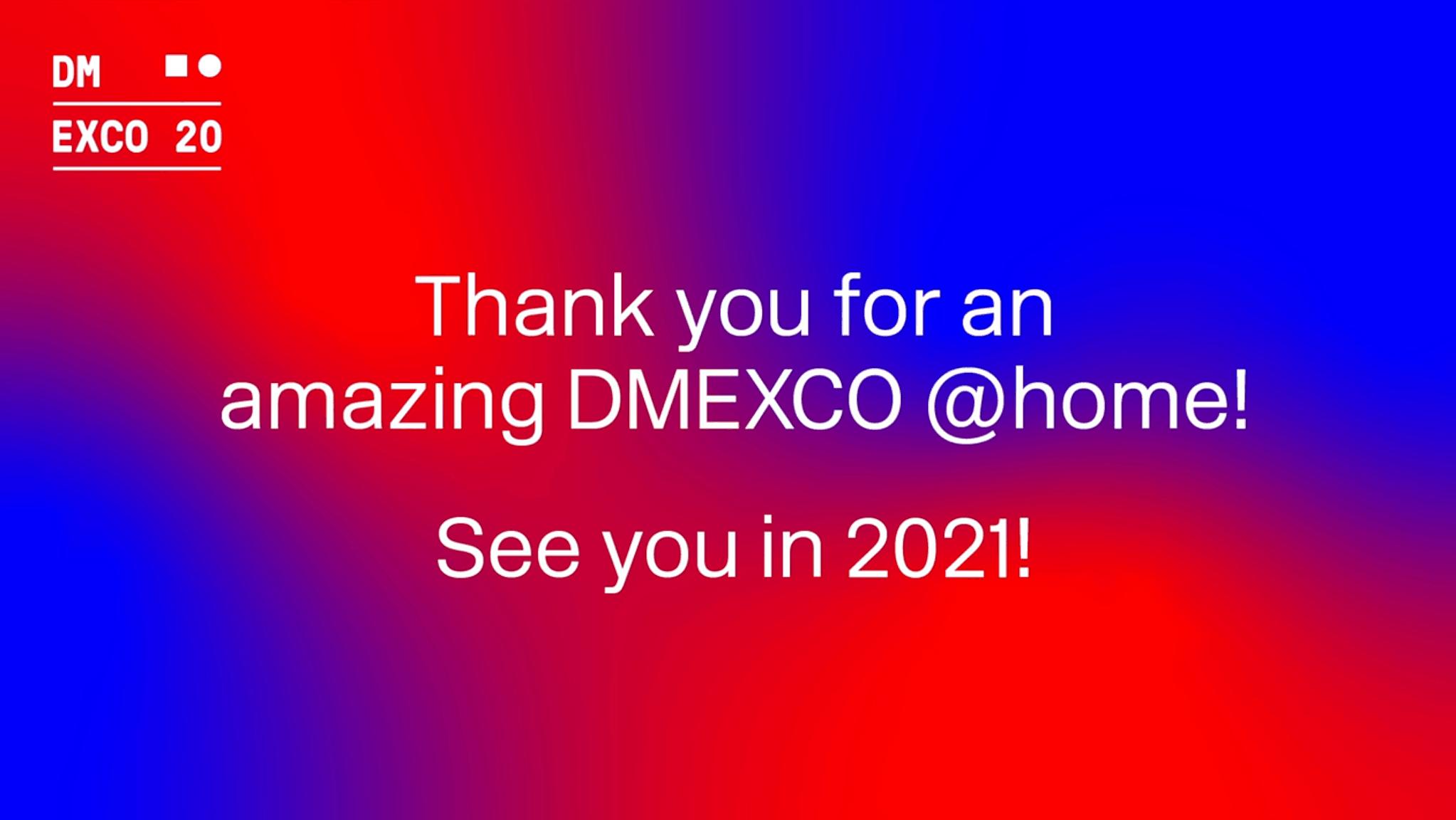 Das war die DMEXCO @home 2020 1