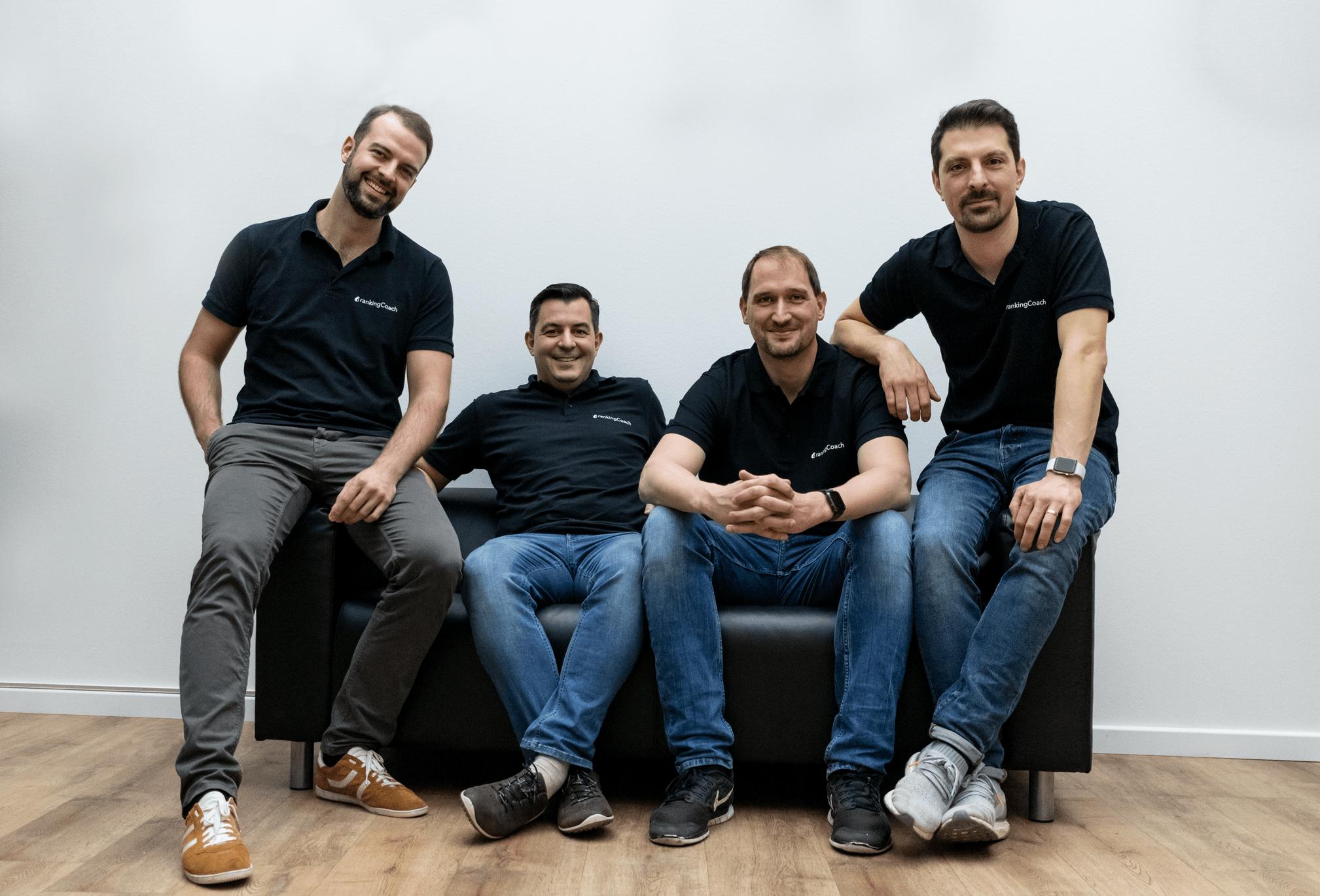 Das Gründer-Team um rankingCoach in Köln.